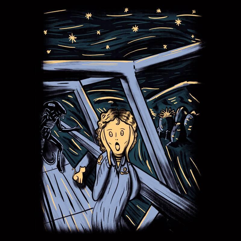 Camiseta El Grito de Munch