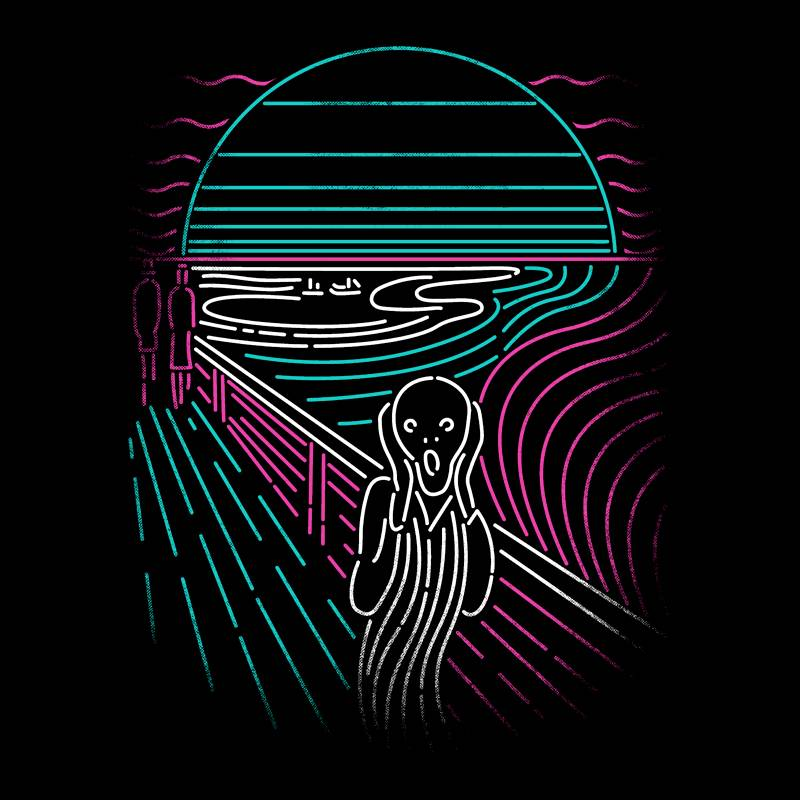 Camiseta Screaming Neon