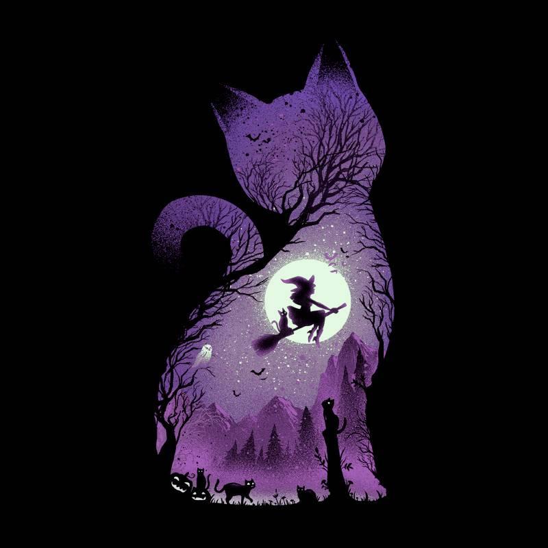Camiseta Witchs cat