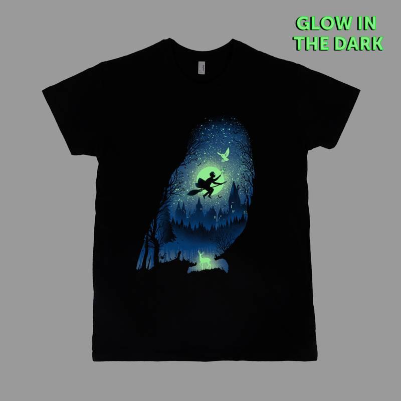 camiseta mágica Harry Potter