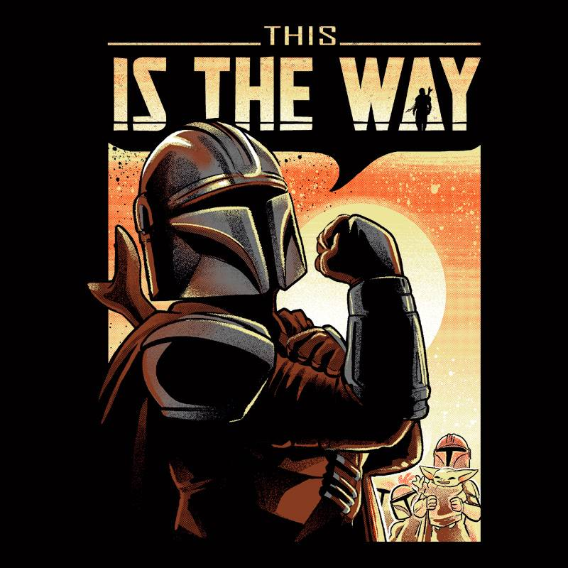 Camiseta This Is The Way
