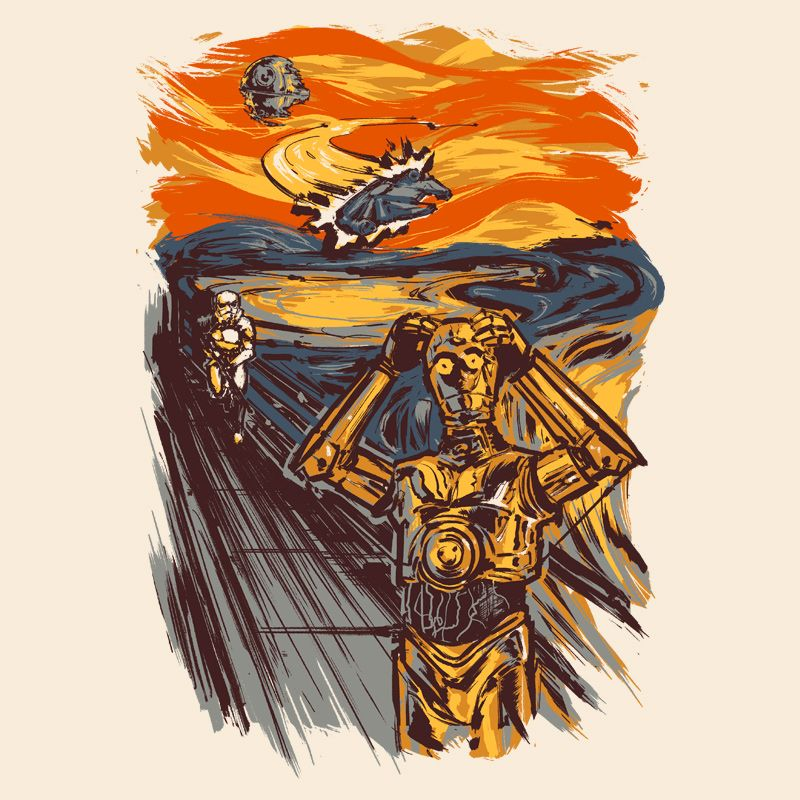 Camiseta Galaxy Scream