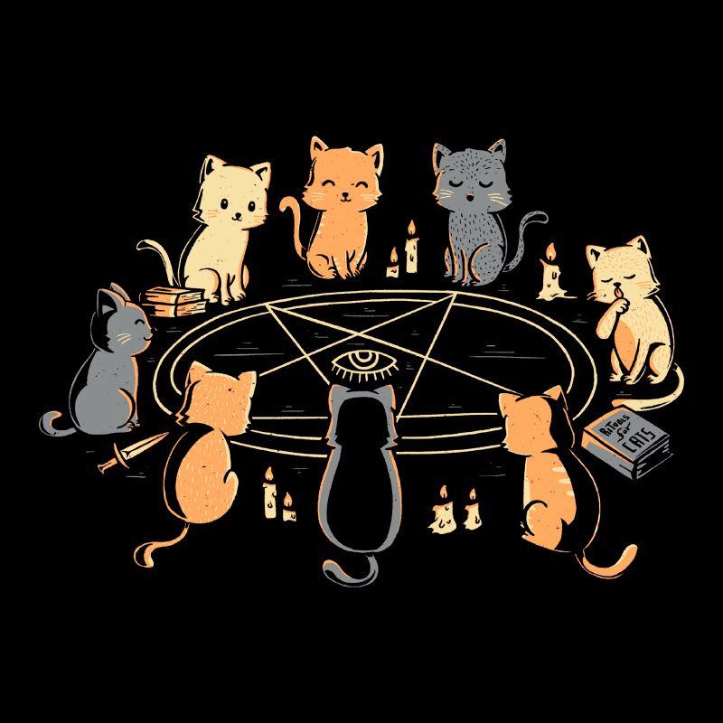 Camiseta Cat Ritual