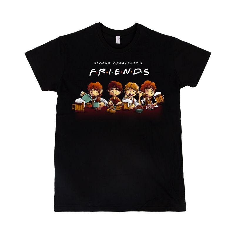 Camiseta Second Breakfast Friends