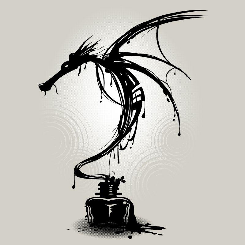 Camiseta Ink Dragon