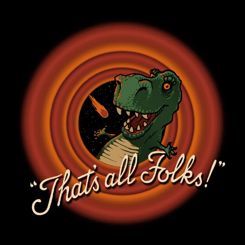 Camiseta T-Rex Extinction