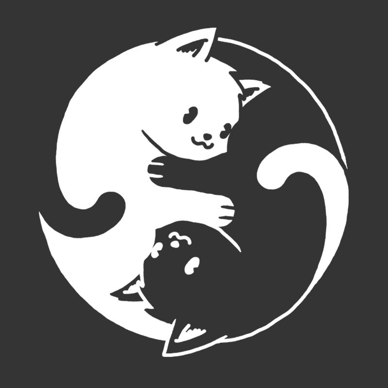 Camiseta Yin Yang Cat