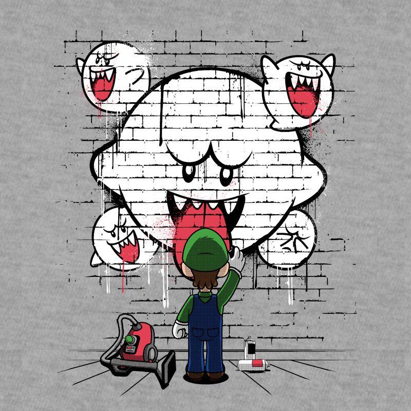 Camiseta Ghost Graffiti