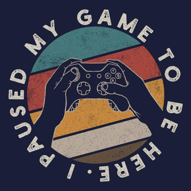 Camiseta Paused My Game